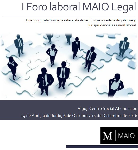 Foro laboral MAIO Legal