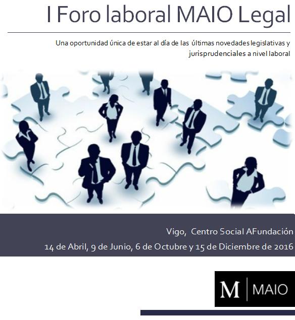 Foro laboral MAIO Legal