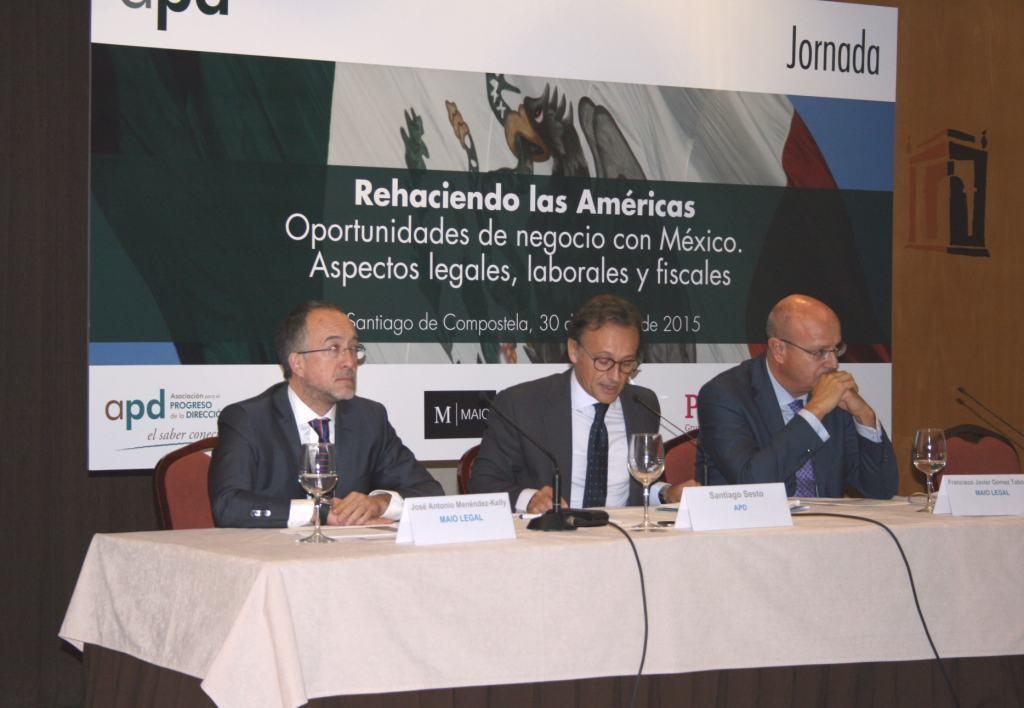 Ponentes en las Jornadas sobre México