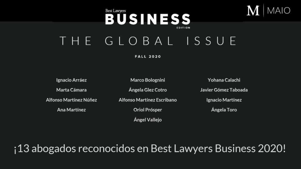 Mejores abogados negocios y empresa Madrid España
