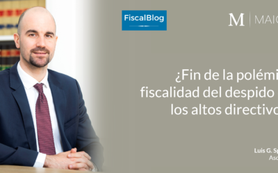 ¿Fin de la polémica fiscalidad del despido de los altos directivos?