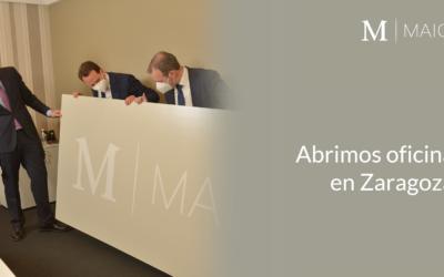 MAIO Legal abre oficina en Zaragoza